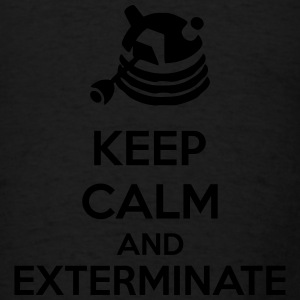 Keep Calm And Exterminate Long Sleeve Shirts - Men's T-Shirt