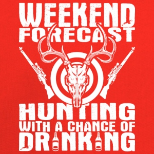 Weekend Forecast Hunting With A Chance Of Drinking - Kids' Premium Hoodie