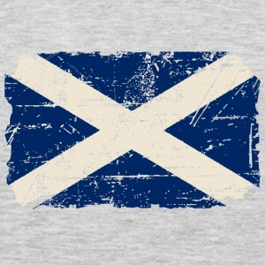 Scotland Flag - Vintage Look  Hoodies - Men's Premium Long Sleeve T-Shirt