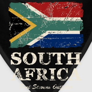 South Africa Flag - Vintage Look  Hoodies - Bandana