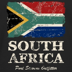 South Africa Flag - Vintage Look  Tanks - Men's Premium Long Sleeve T-Shirt