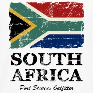 South Africa Flag - Vintage Look  T-Shirts - Men's Premium Long Sleeve T-Shirt