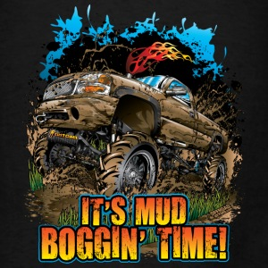 Mud Bogging Time Bags & backpacks - Men's T-Shirt