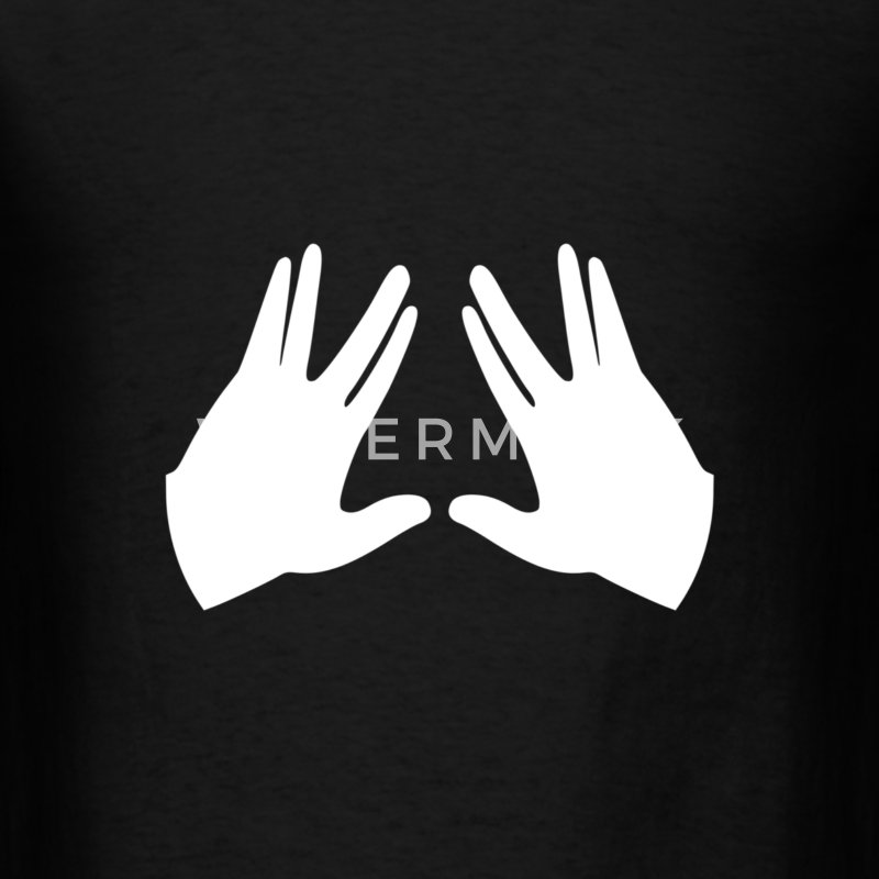 Kohen  Hands Symbol T-Shirts - Men's T-Shirt