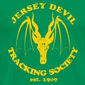 Jersey Devil Tracking Society  Hoodies - Men's Premium T-Shirt