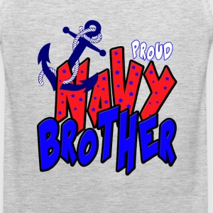 Proud Navy Brother T-Shirts - Men's Premium Tank
