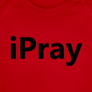 iPray Kids' Shirts - Short Sleeve Baby Bodysuit
