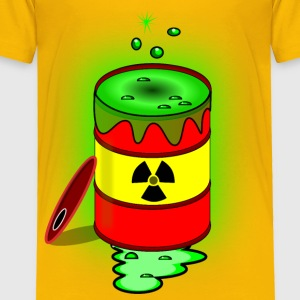 Toxic nuclear barrel - Toddler Premium T-Shirt