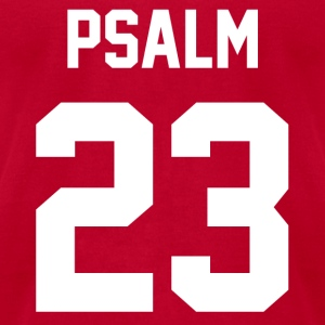 Psalm 23 - Women's Longer Length Fitted Tank - Men's T-Shirt by American Apparel