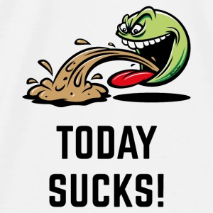 Today Sucks! (Emoticon Smiley Meme / PNG) Other - Men's Premium T-Shirt
