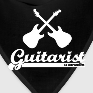 Guitarist - 2 guitars and text T-Shirts - Bandana