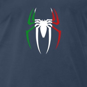 Spider Man Italian Tshirt Tanks - Men's Premium T-Shirt