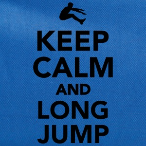 Keep calm and Long Jump Women's T-Shirts - Computer Backpack