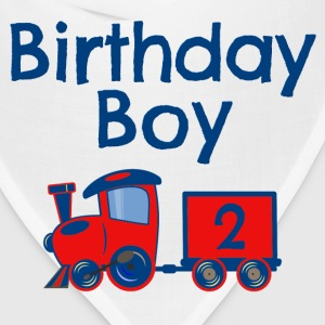 Birthday Boy Train 2 Baby & Toddler Shirts - Bandana