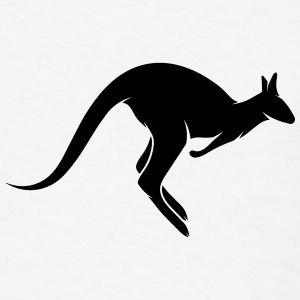 A hopping kangaroo Other - Men's T-Shirt