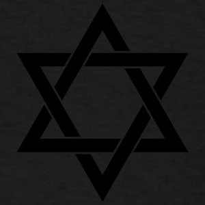 Star of David Judaism Isr Caps - Men's T-Shirt