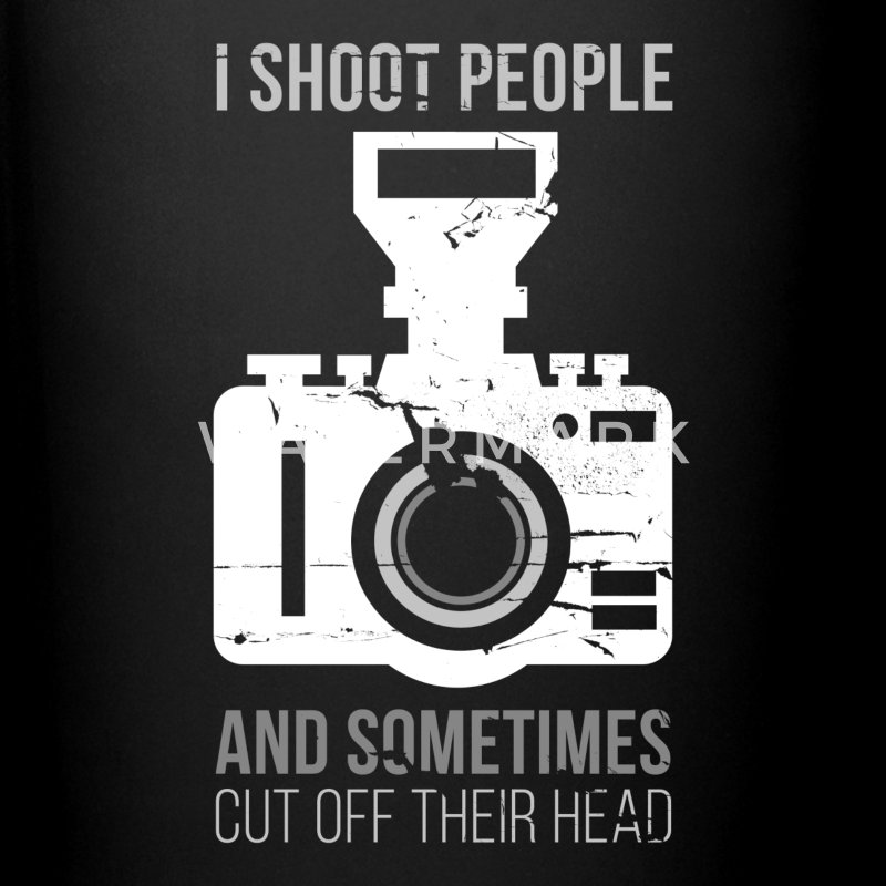 I Shoot People Photography T-shirt Mugs & Drinkware - Full Color Mug