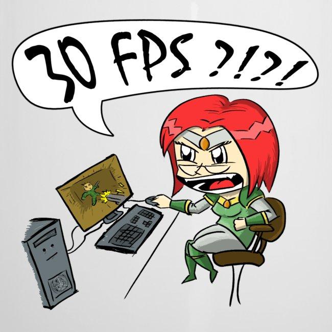 """Men's """"30 FPS"""" Tee"""