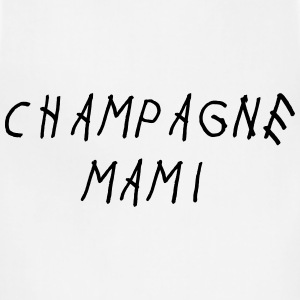 Champagne mami Women's T-Shirts - Adjustable Apron