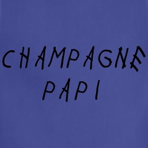 Champagne papi Long Sleeve Shirts - Adjustable Apron