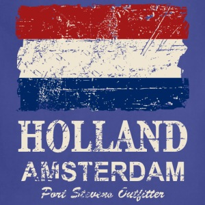 Holland Flag - Vintage Look  Hoodies - Adjustable Apron