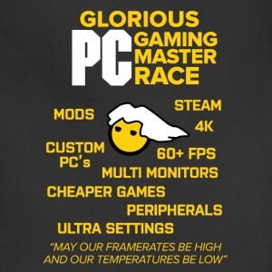 Glorious PC Gaming Master Race - Adjustable Apron