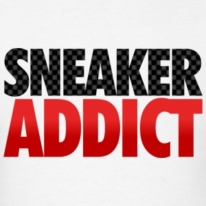 sneaker addict carbon fiber Hoodies - Men's T-Shirt