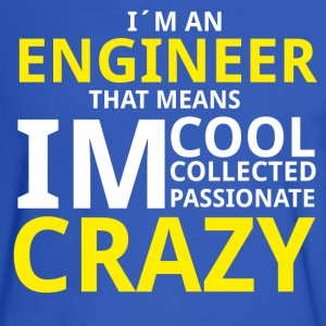 Crazy Engineer Hoodies - Men's Long Sleeve T-Shirt