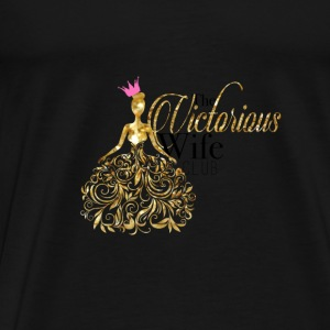 The Victorious Wife Club Tank - Men's Premium T-Shirt