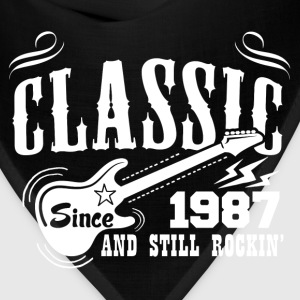 Classic Since 1987 And Still Rockin' T-Shirts - Bandana