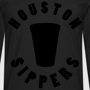 houston sippers T-Shirts - Men's Premium Long Sleeve T-Shirt