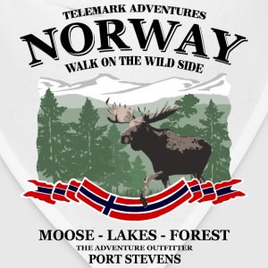 Norway moose Women's T-Shirts - Bandana