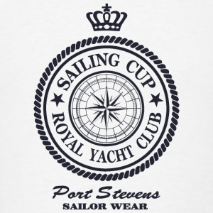 Sailing Cup - Royal Yacht Club Hoodies - Men's T-Shirt