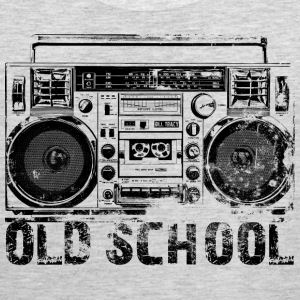 Old School Boombox Art - Men's Premium Tank