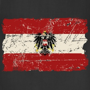 Austria Flag - Vintage Look  T-Shirts - Adjustable Apron
