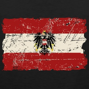 Austria Flag - Vintage Look  T-Shirts - Men's Premium Tank