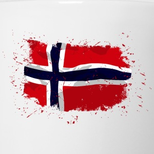Norway flag - Vintage look Tanks - Coffee/Tea Mug