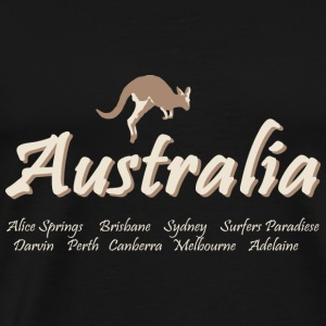 Australia Tanks - Men's Premium T-Shirt