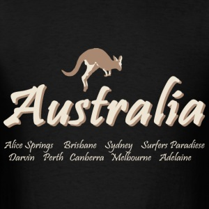 Australia Hoodies - Men's T-Shirt