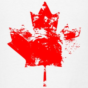 Canadian Maple Leaf - Vintage Look Tanks - Men's T-Shirt