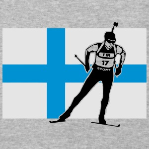 Finland Biathlon  Hoodies - Baseball T-Shirt