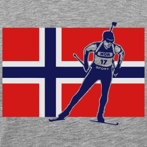 Norway Biathlon  Hoodies - Men's Premium T-Shirt