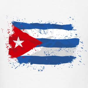 Cuba Flag Hoodies - Men's T-Shirt