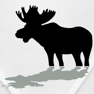 Moose at Lake Long Sleeve Shirts - Bandana