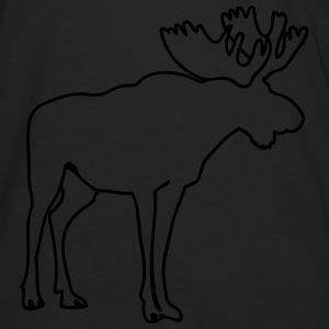 Moose Hoodies - Men's Premium Long Sleeve T-Shirt