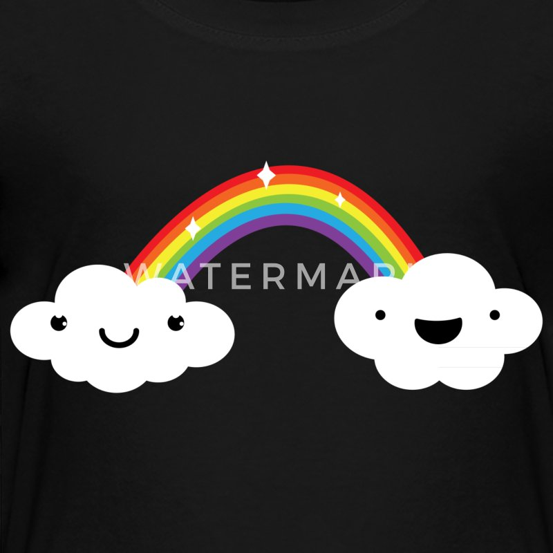 Cute Rainbow Clouds LGBT Pride Baby & Toddler Shirts - Toddler Premium T-Shirt