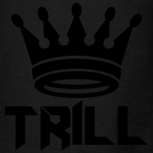 (trill_crown_small) Hoodies - Men's T-Shirt
