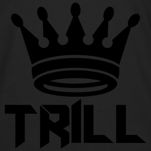 (trill_crown_small) Hoodies - Men's Premium Long Sleeve T-Shirt