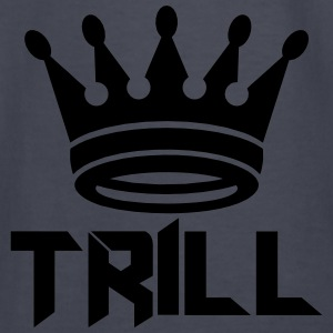 (trill_crown_small) Hoodies - Kids' Long Sleeve T-Shirt