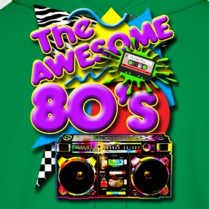 Old School Lasonic Boombox Art T-Shirts - Men's Hoodie